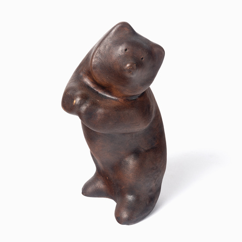 Statuette of a bear