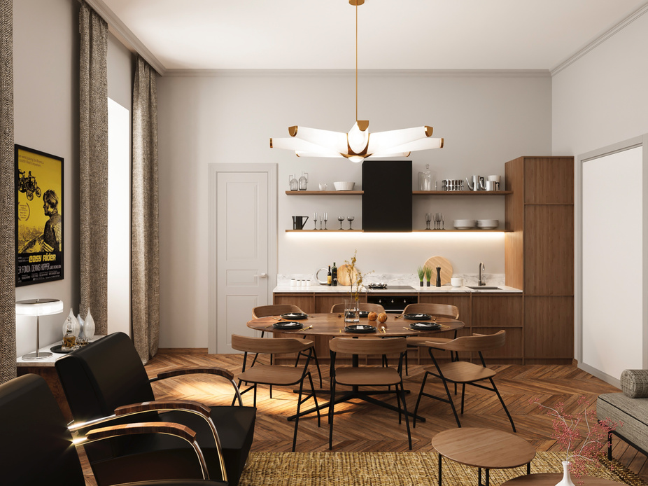 Interior design - Residence in Prague - 10